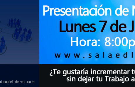 Conferencia en Vivo Lunes 7 de Julio